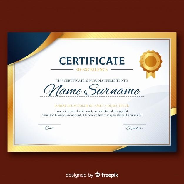 Modelos De Diplomas Para Editar Elegant Modelo De Diploma Elegante Elementos Dourados