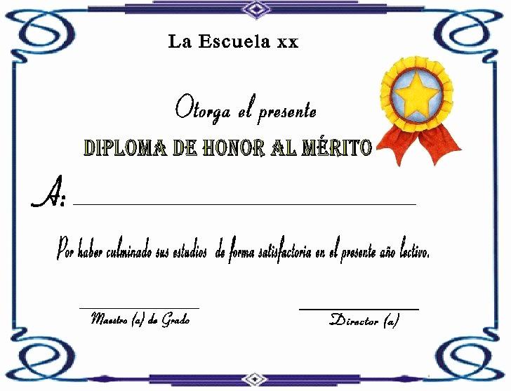 Modelos De Diplomas Para Editar Fresh A Mi Manera Reconocimiento Pinterest