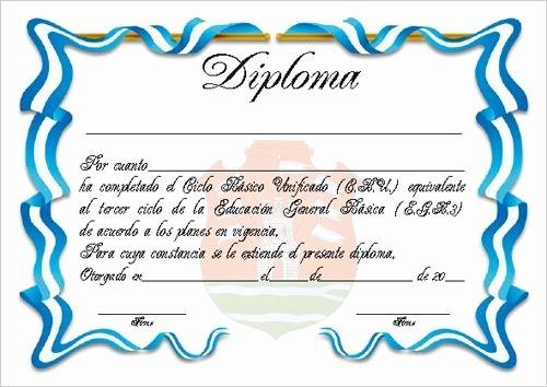 Modelos De Diplomas Para Editar New Plantillas De Diplomas De Reconocimiento Para Imprimir