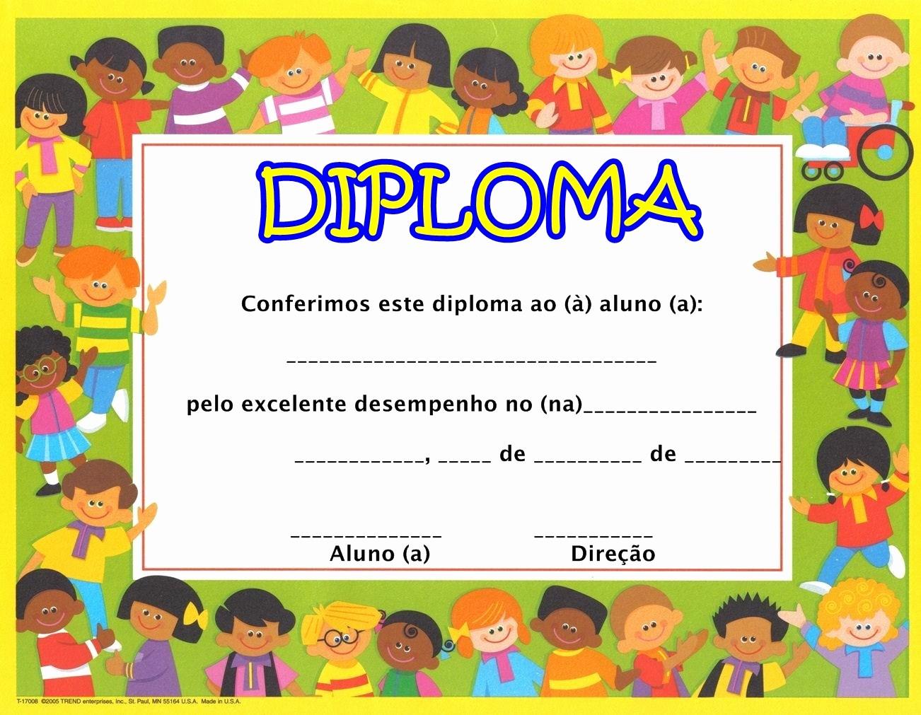 Modelos De Diplomas Para Editar Unique Modelos De Diplomas EducaÇo Infantil Para Imprimir