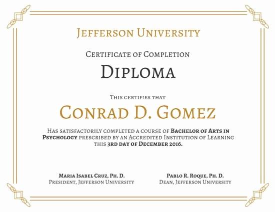 Modelos De Diplomas Para Editar Unique Modelos De Diplomas Online E Para Imprimir Canva