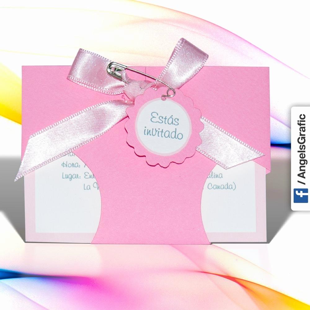 Modelos De Tarjetas De Invitacion Beautiful Tarjeta De Invitación Para Baby Shower Bs 385 Angels