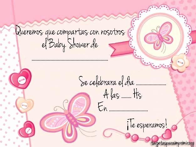 Modelos De Tarjetas De Invitacion Best Of Modelos De Invitaciones Para Baby Shower – Tarjetas Para
