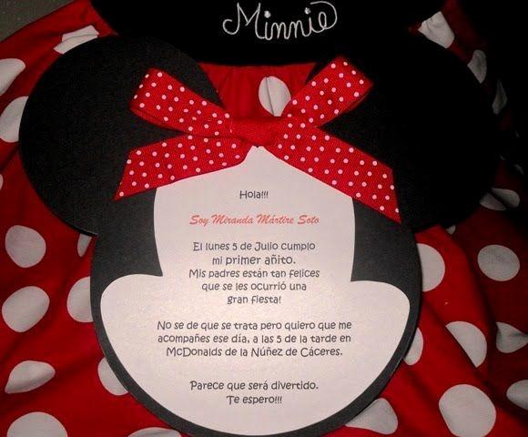 Modelos De Tarjetas De Invitacion Fresh Modelos De Tarjetas De Invitación De Minnie Imagui