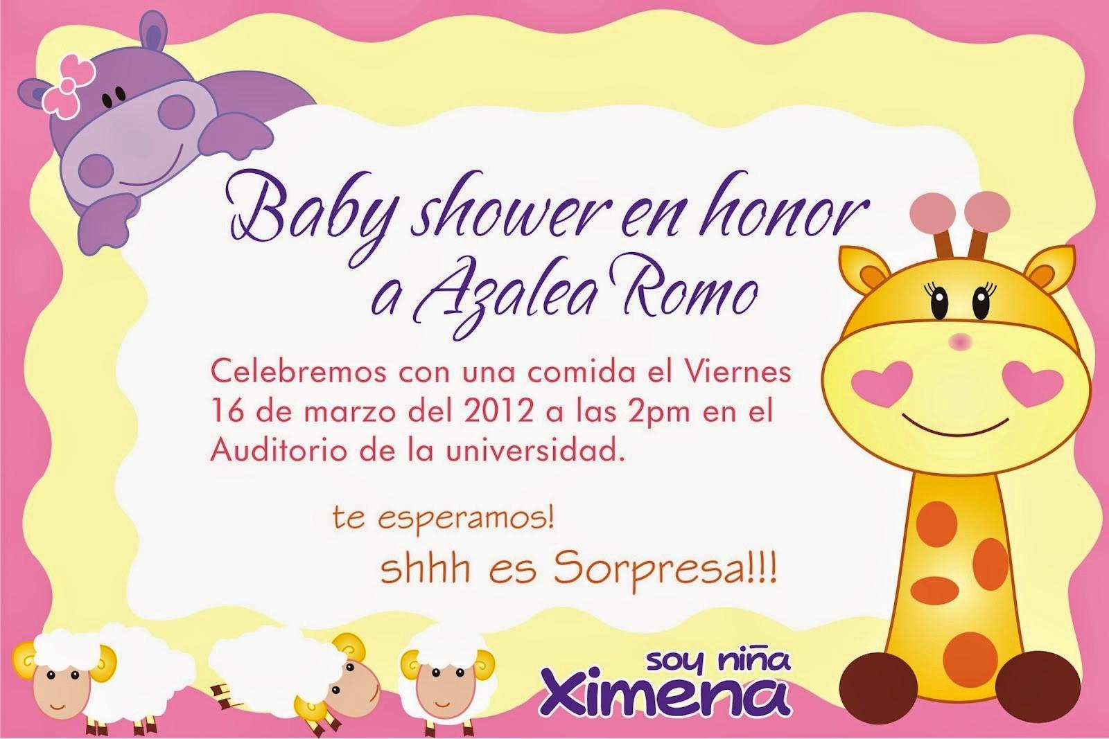 Modelos De Tarjetas De Invitacion Unique Tarjetas De Invitación Para Baby Shower Niña Baby Shower