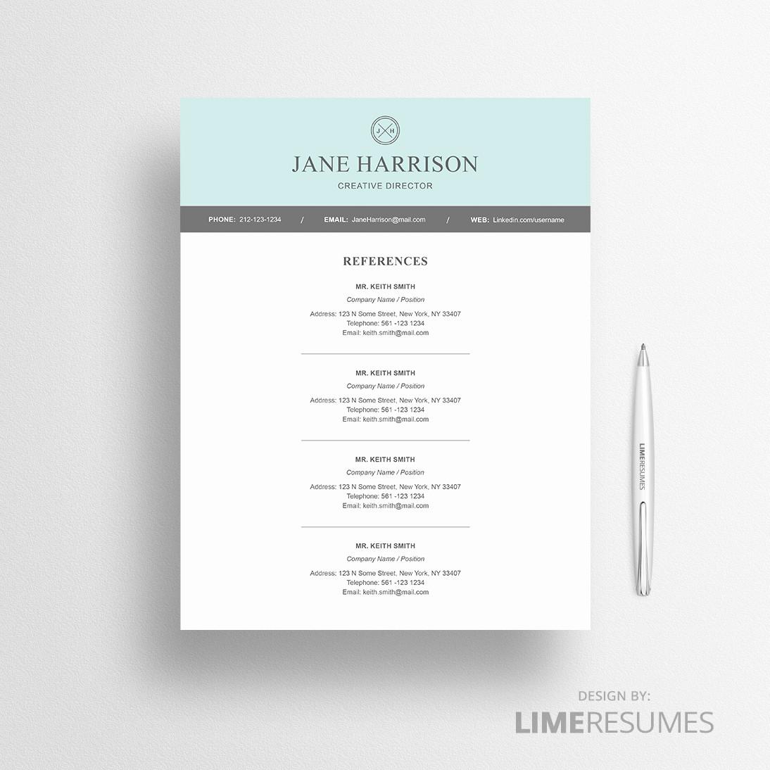 Modern Resume Template Free Word Beautiful Modern Resume Template for Microsoft Word Limeresumes