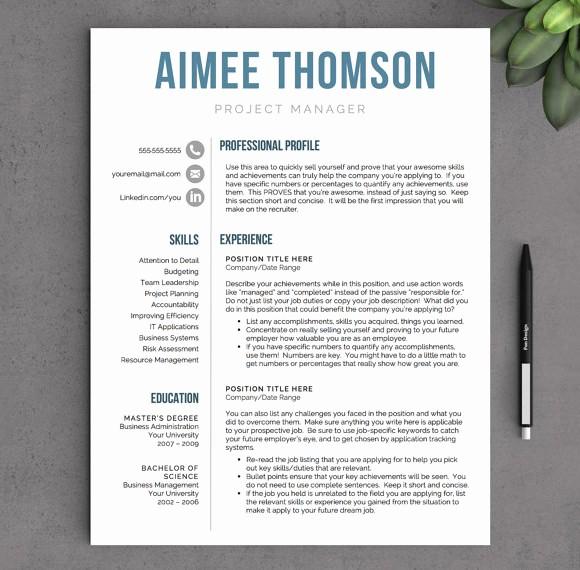 Modern Resume Template Free Word Best Of 10 Modern Resume Templates