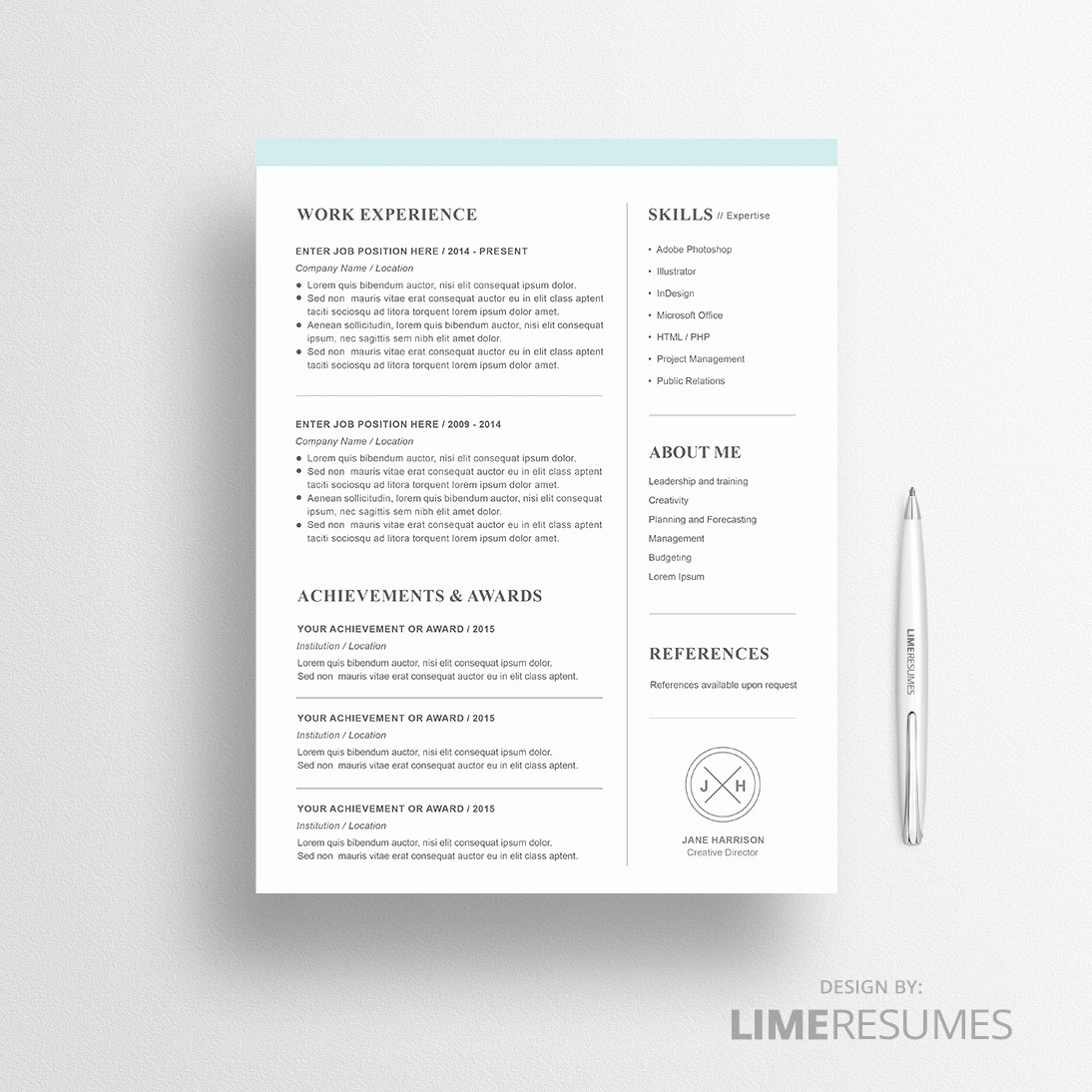 Modern Resume Template Free Word Best Of Modern Resume Template for Microsoft Word Limeresumes