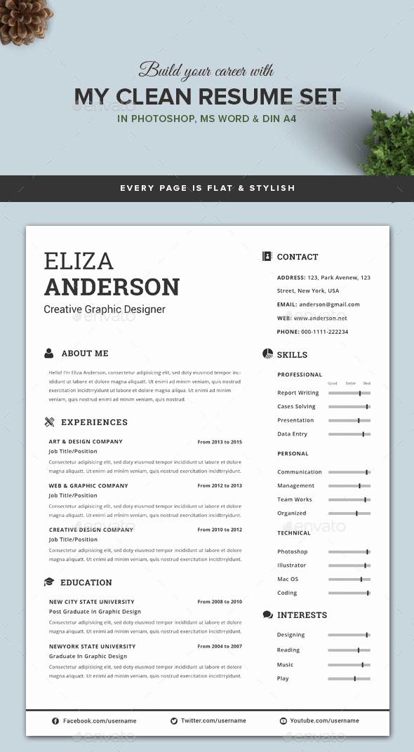 Modern Resume Template Free Word Elegant Personalize A Modern Resume Template In Ms Word