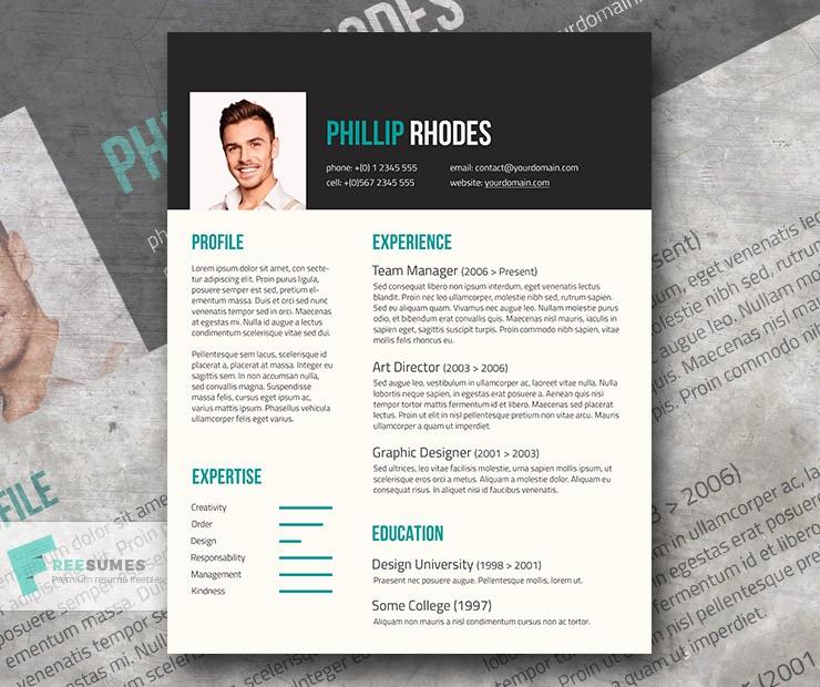 Modern Resume Template Free Word Fresh Free Modern Resume Template
