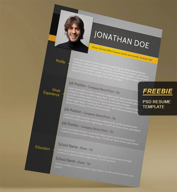 Modern Resume Template Free Word Inspirational 28 Minimal & Creative Resume Templates Psd Word & Ai