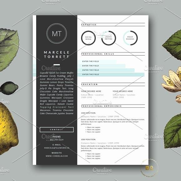 Modern Resume Template Free Word Luxury Modern Cv Template for Word Resume Templates Creative