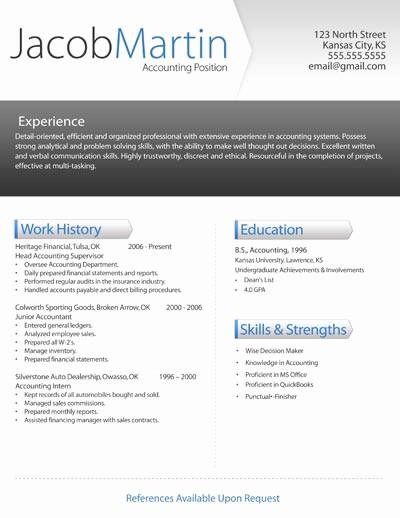Modern Resume Template Free Word New Free Modern Resume Templates
