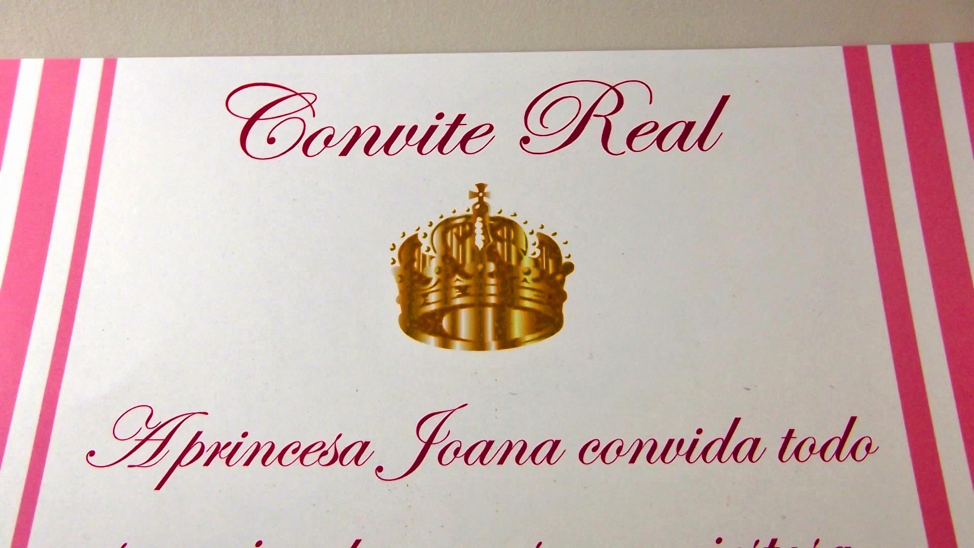 Moldes Para Convites De Aniversario Lovely Convite De Aniversário Modelo Real Perolaflor