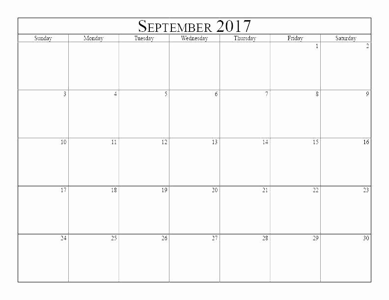 Monday Through Friday Hourly Calendar Beautiful Monday Thru Friday Monthly Calendar Template Through New