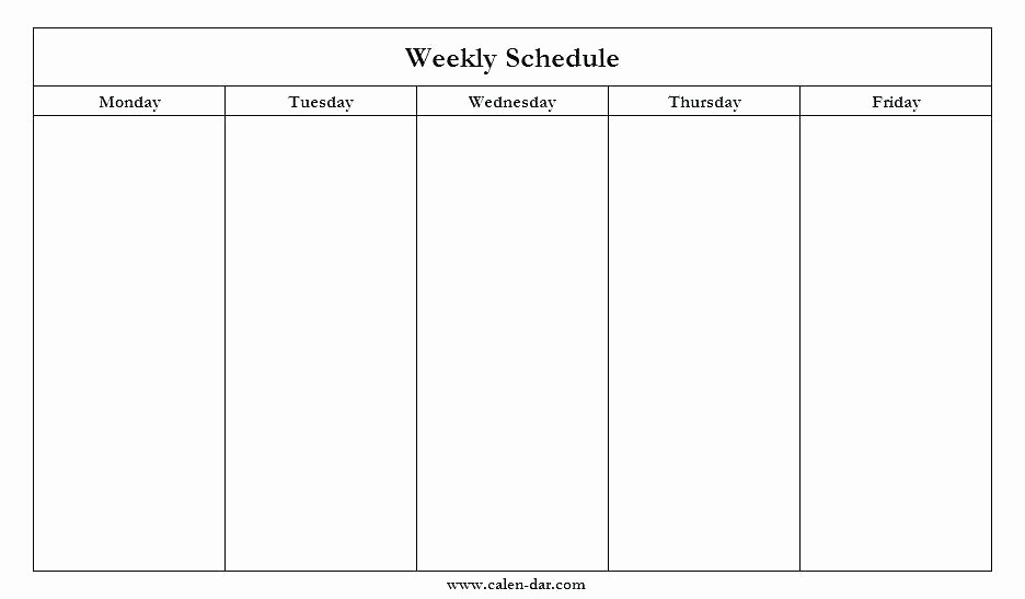 Monday Through Sunday Calendar Template Lovely Printable Weekly Hourly Schedule Template More Planning
