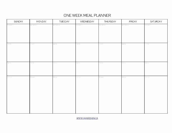 Monday Through Sunday Calendar Template Luxury Monday Through Sunday Calendar Template Time Impression