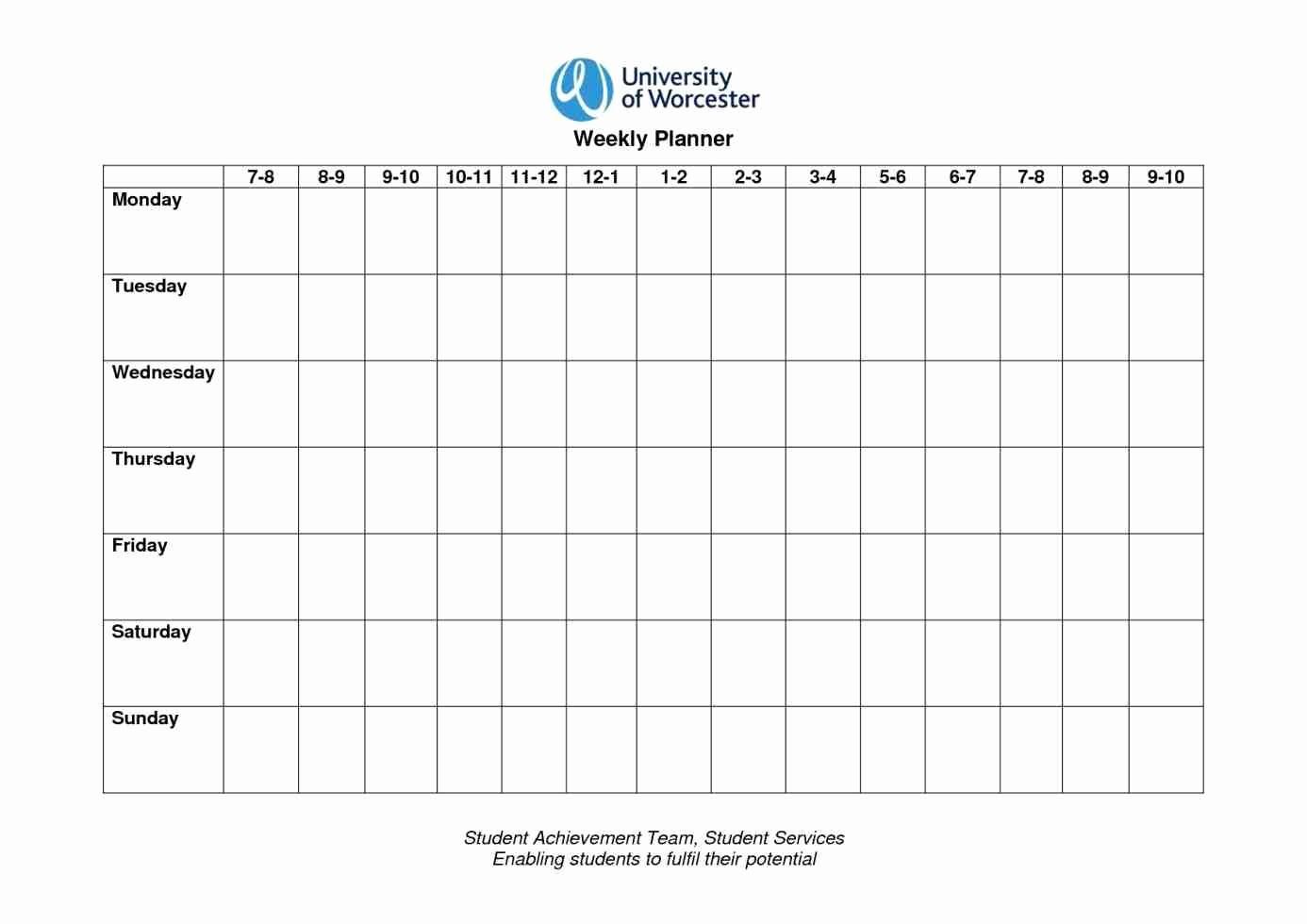 Monday to Sunday Calendar 2017 Fresh Monday Through Sunday Calendar