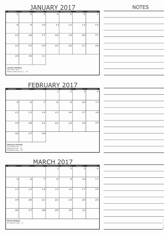 Monday to Sunday Calendar 2017 Inspirational February 2017 Calendar Monday to Sunday Calendar and