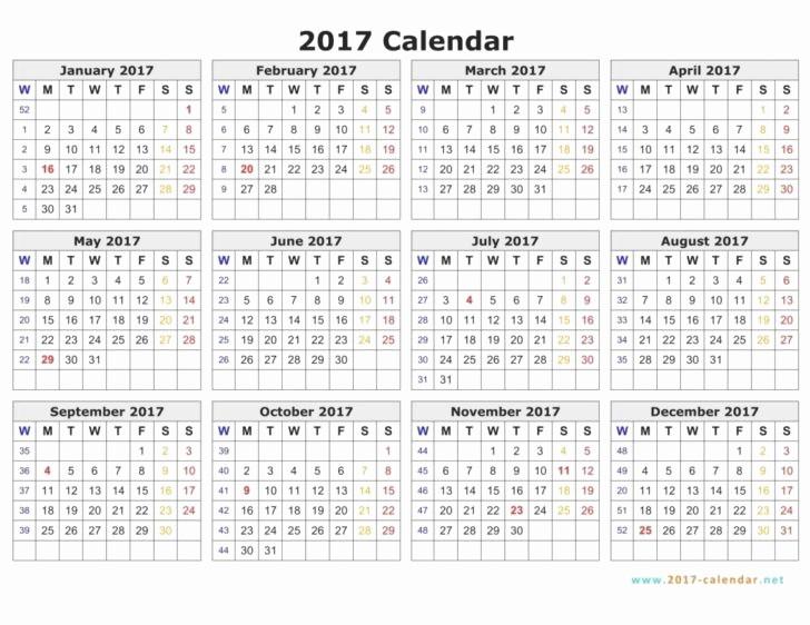 Monday to Sunday Calendar 2017 Unique Monday to Sunday Calendar Template