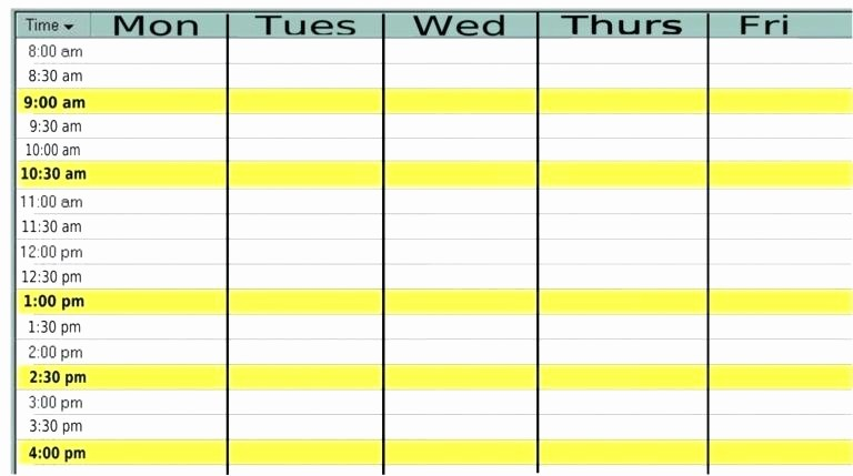 Monday to Sunday Calendar Template Inspirational Calendar Template Printable Monday to Sunday 2016
