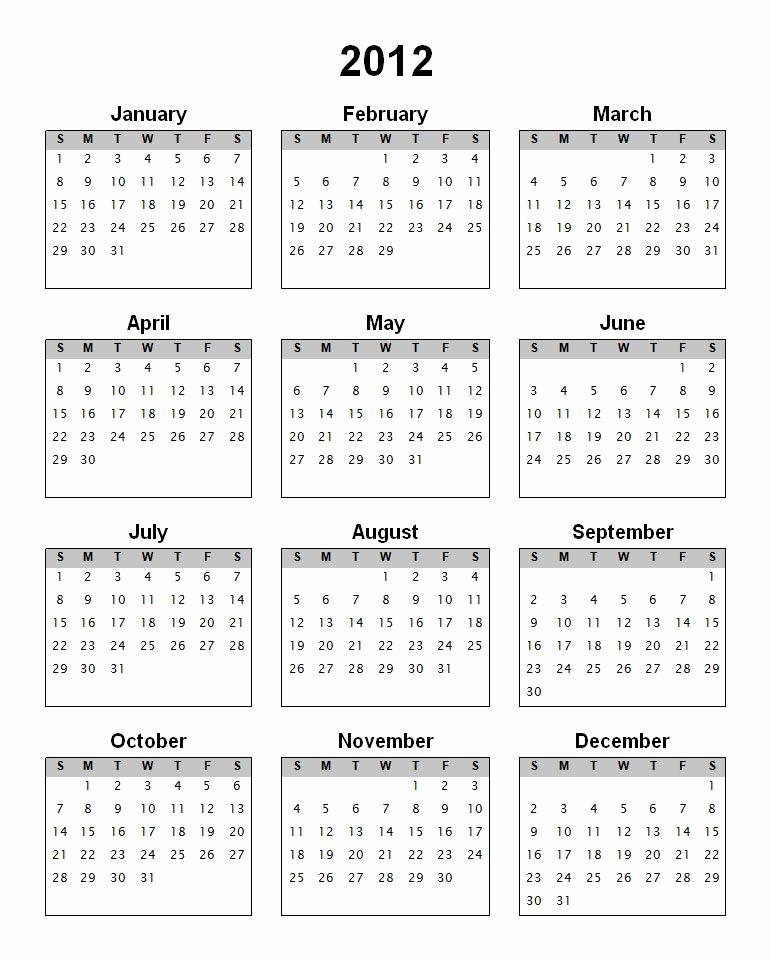 Monday to Sunday Calendar Template Inspirational Gallery Printable 2012 Calendar Human Anatomy Chart