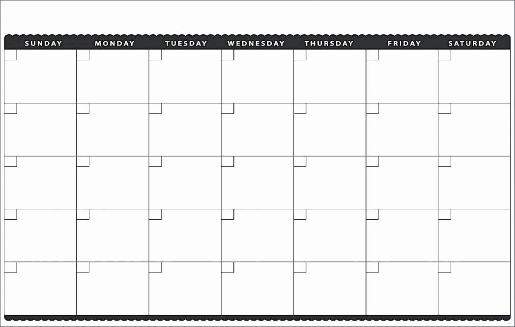 Monday to Sunday Calendar Template Inspirational Monday Through Sunday Calendar Template Thru Friday