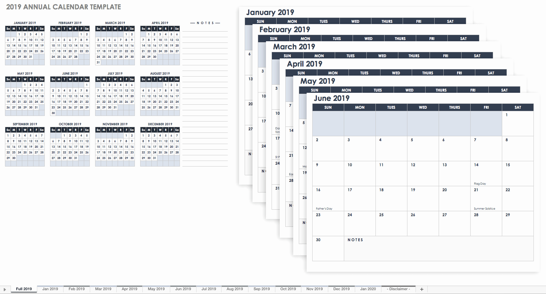 Month by Month Calendar Template Awesome 15 Free Monthly Calendar Templates