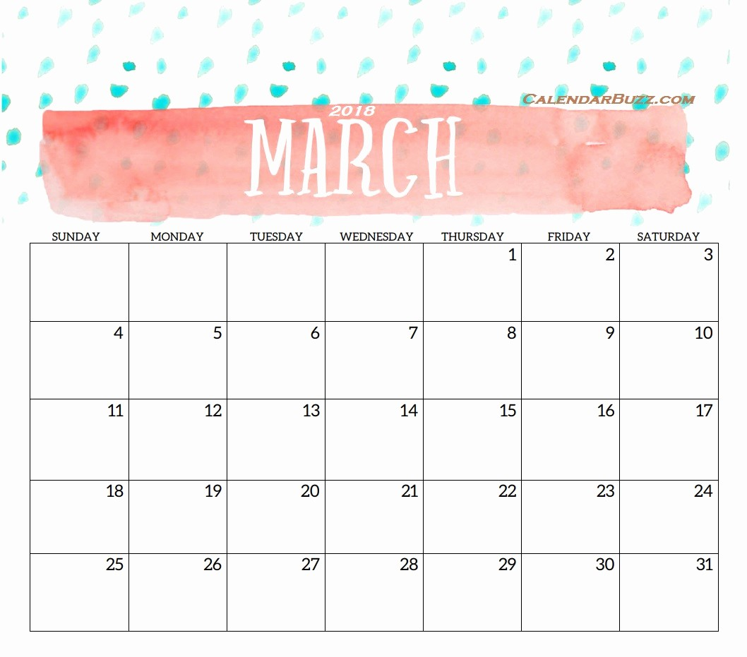 Month by Month Calendar Template Beautiful Blank Templates Monthly 2018
