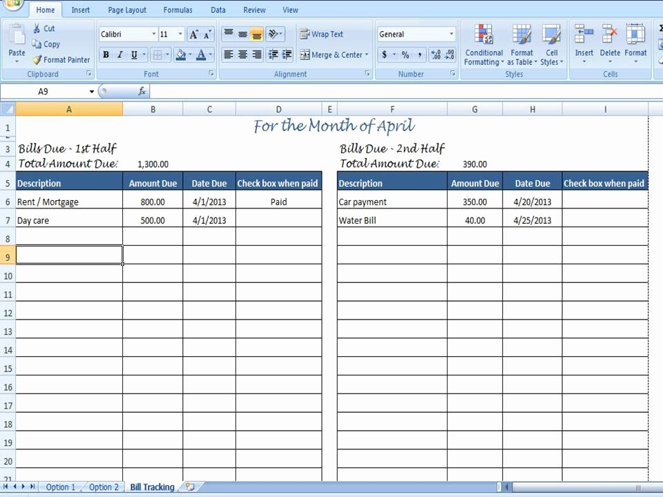 Monthly Bill Due Date Template Awesome Monthly Bill organizer Bill Tracker by Timesavingtemplates