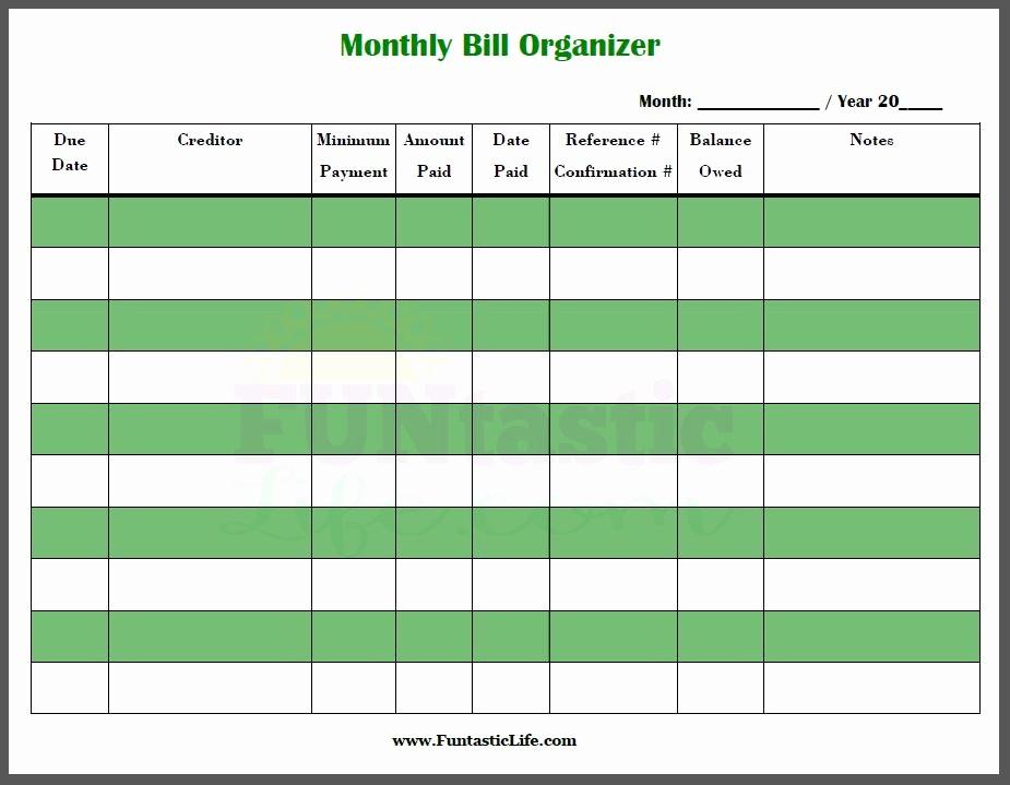 Monthly Bills Spreadsheet Template Excel Luxury Excel Monthly Bill Payment Template Monthly Bill
