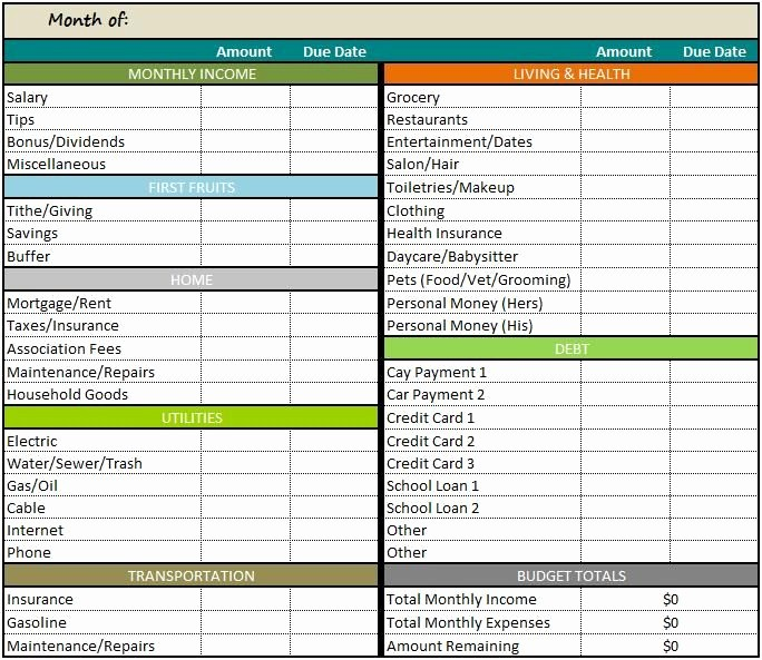 Monthly Budget Example Single Person Inspirational Best 25 Monthly Bud Spreadsheet Ideas On Pinterest
