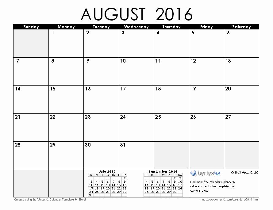 Monthly Calendar 2016 Printable Free Inspirational Free Printable Calendar Printable Monthly Calendars