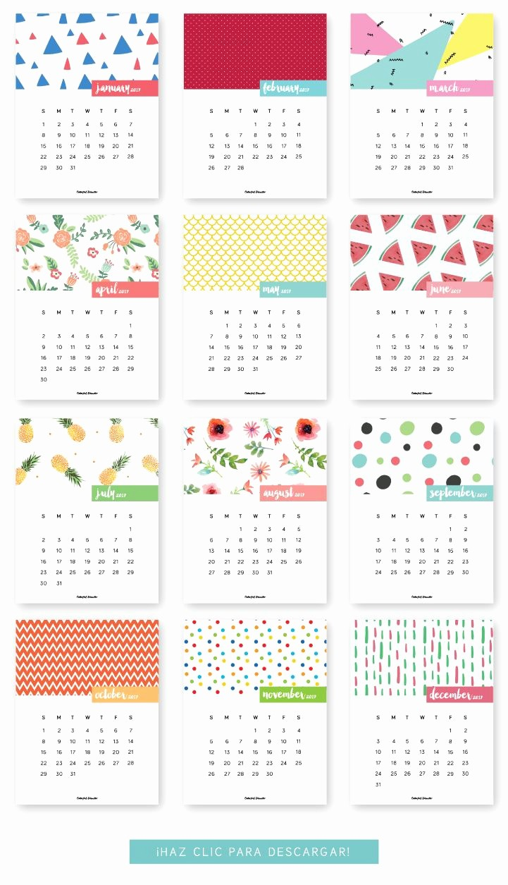 Monthly Calendar 2017 Printable Free Awesome Best 25 Printable Calendars Ideas On Pinterest