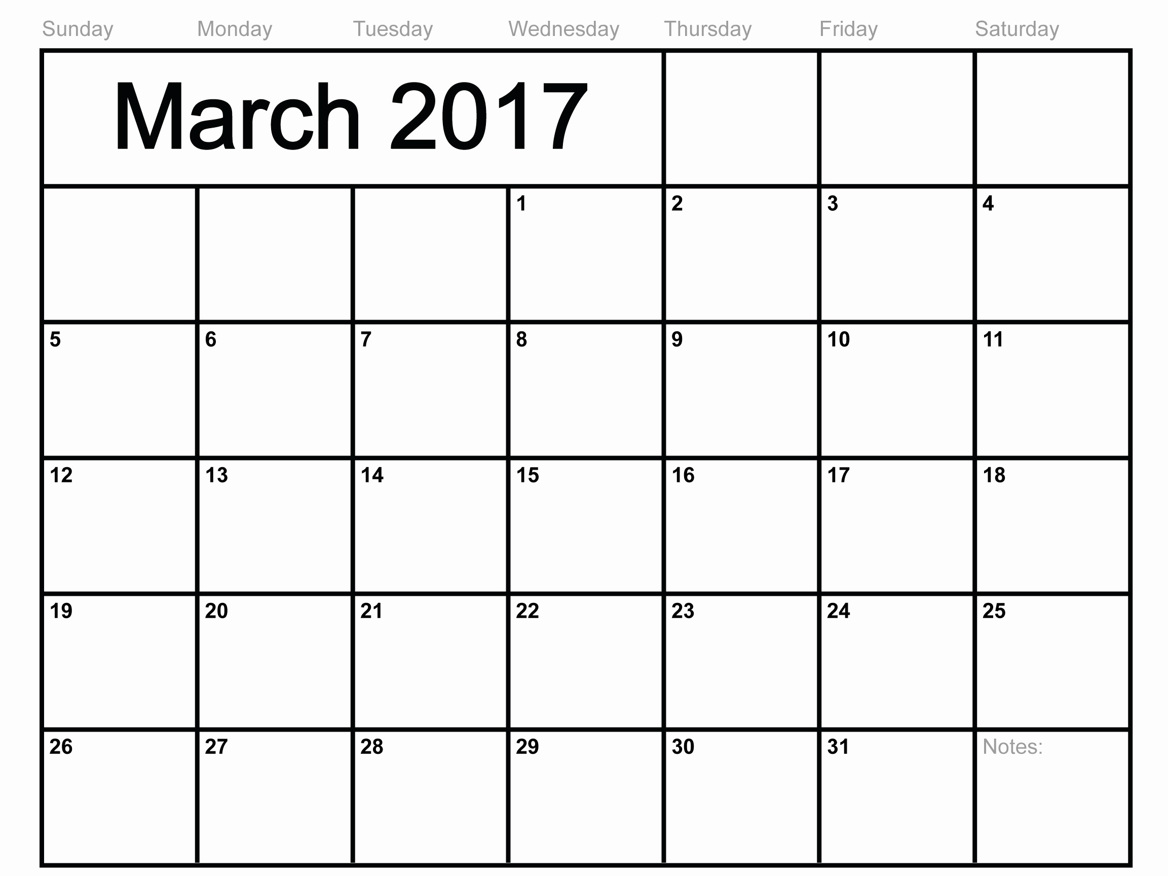 Monthly Calendar 2017 Printable Free Best Of Free Print Calendar 2017