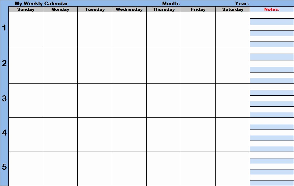 Monthly Calendar with Time Slots Awesome Weekly Calendar with Time Slots Template