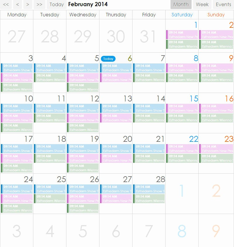 Monthly Calendar with Time Slots Beautiful Monthly Calendar with Hourly Time Slots