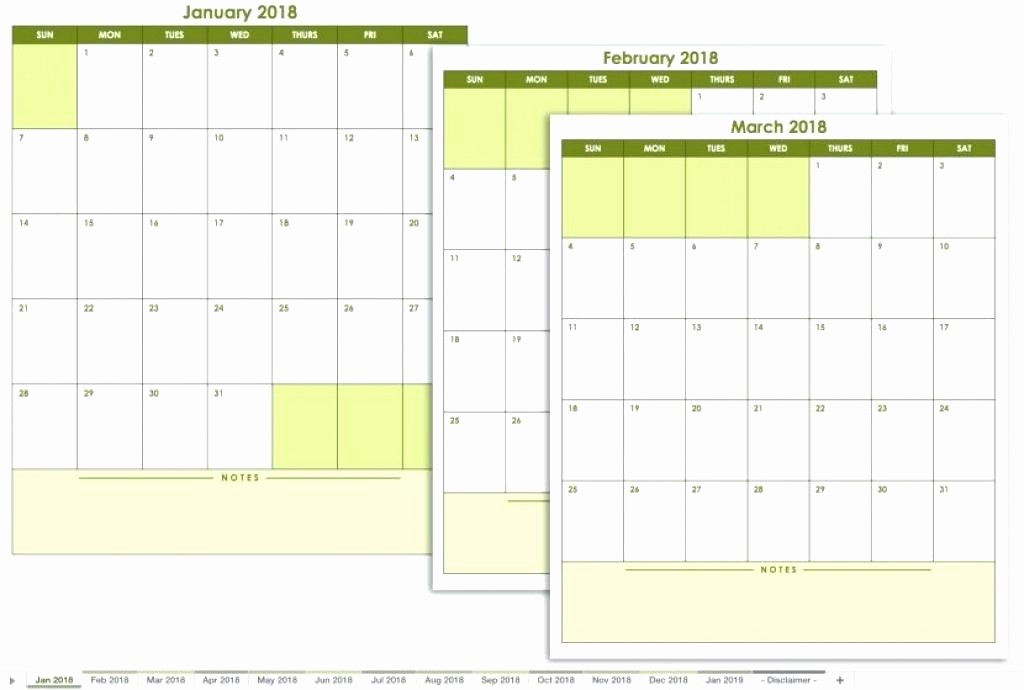 Monthly Calendar with Time Slots Unique Calendar Template with Time Slots Printable Weekly Excel