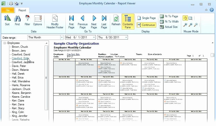 Monthly Employee Shift Schedule Template Best Of Monthly Staff Roster Template Free Employee and Shift