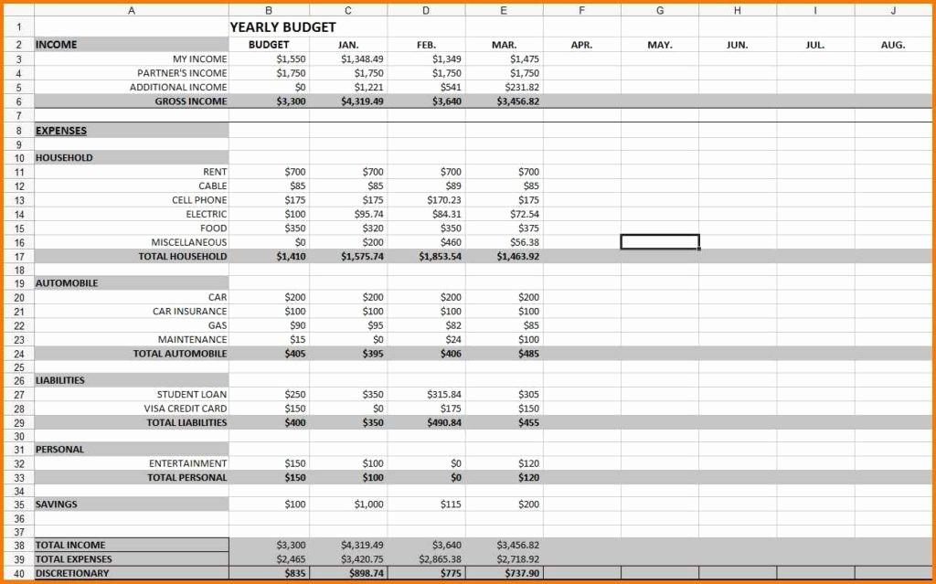 Monthly Expense Sheet Excel Template Luxury Monthly Expenses Spreadsheet Template Monthly Expense