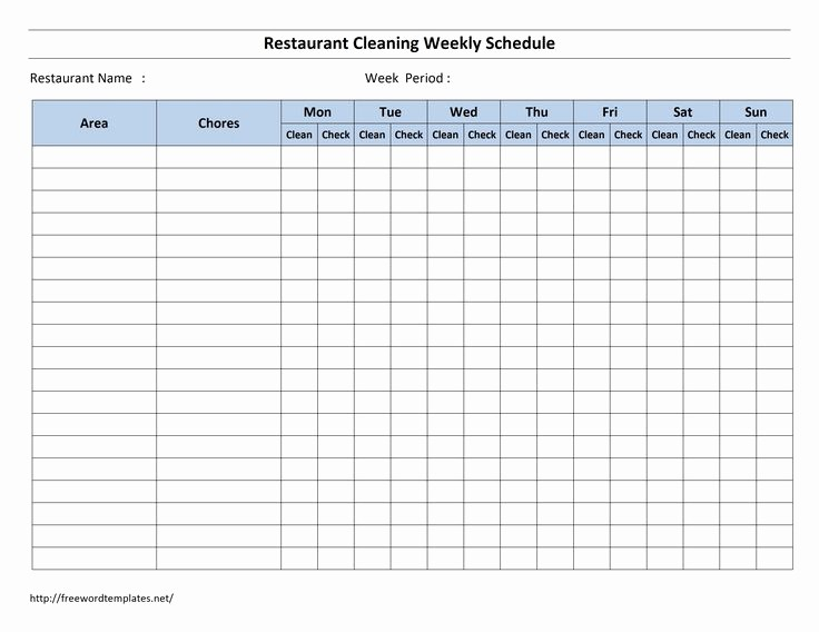 Monthly House Cleaning Schedule Template Beautiful Best 25 Cleaning Schedule Templates Ideas On Pinterest