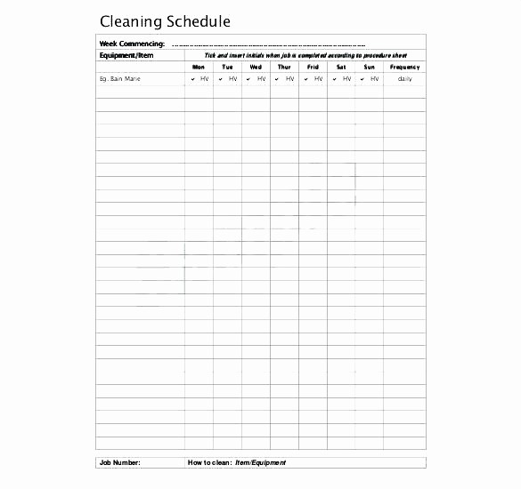 Monthly House Cleaning Schedule Template Beautiful Monthly Cleaning Schedule Template – Flirty