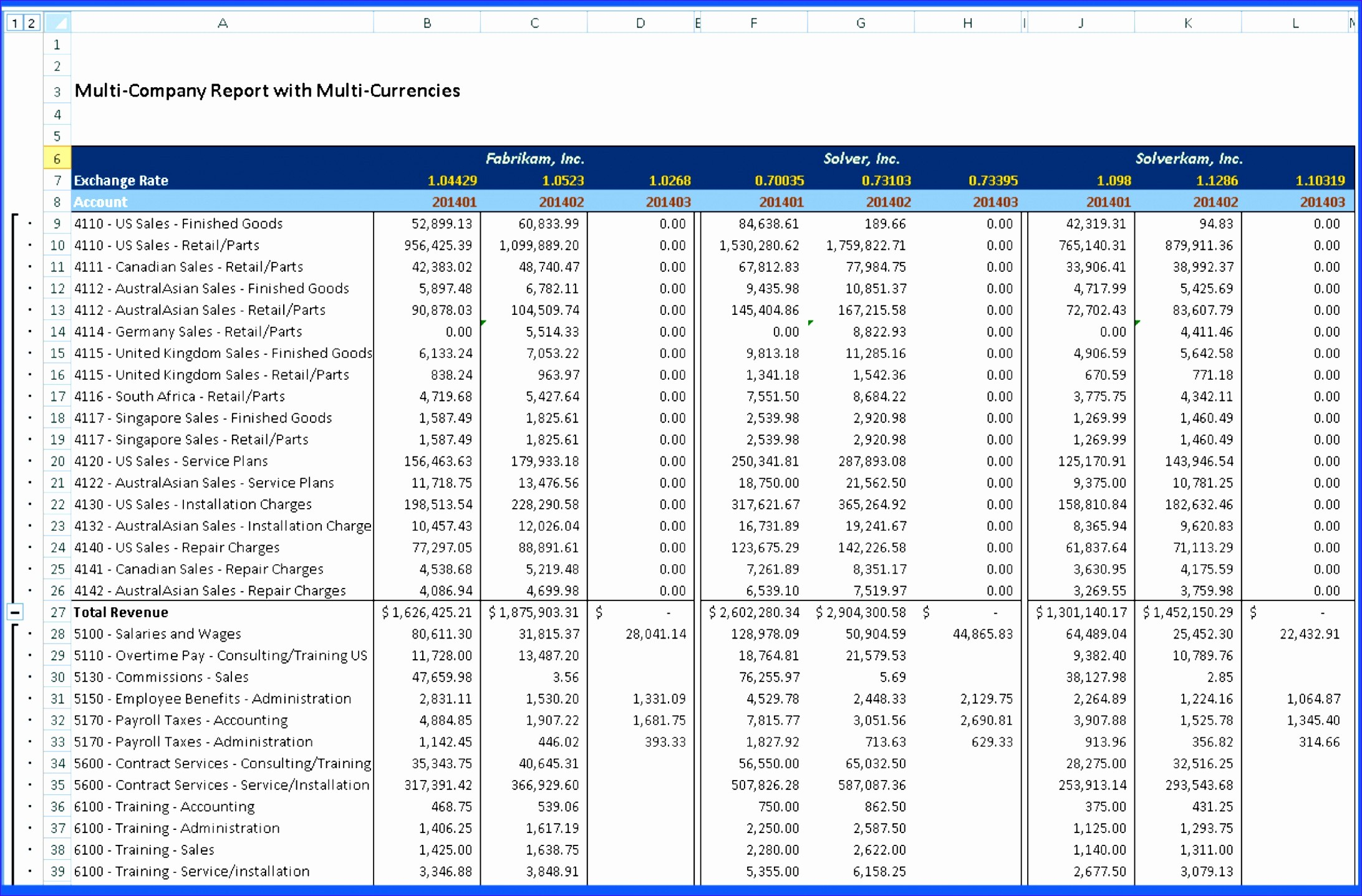 Monthly P&l Template Inspirational 5 Excel Templates for Financial Statements