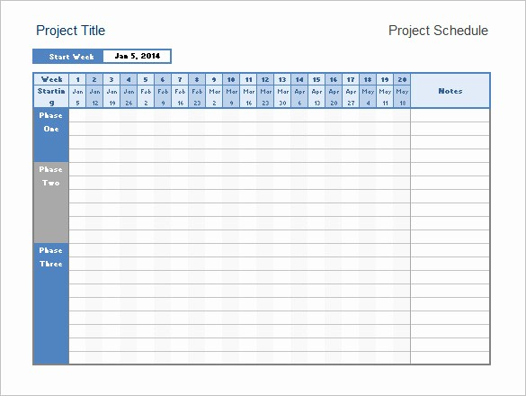 Monthly Project Timeline Template Excel Lovely Excel Calendar Timeline