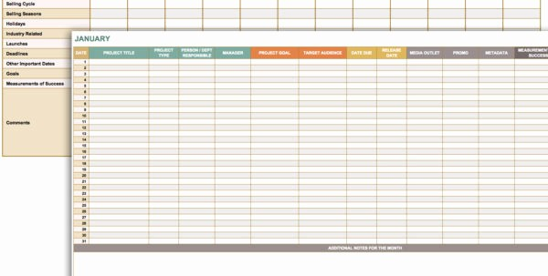 Monthly Project Timeline Template Excel New Free Marketing Timeline Tips and Templates Smartsheet