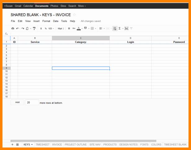 Monthly Timesheet Template Google Docs Fresh 10 Google Docs Timesheet