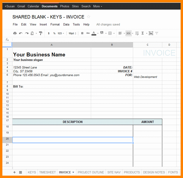 Monthly Timesheet Template Google Docs Luxury 8 Google Docs Timesheet Template