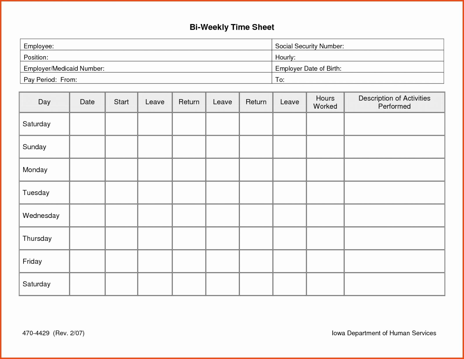 Monthly Timesheet Template Google Docs Luxury Free Printable Timesheets for Employees Picture Template