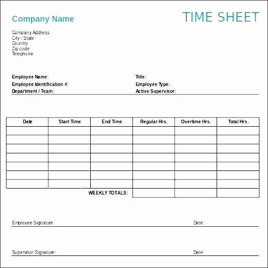 Monthly Timesheet Template Google Docs Unique Google Docs Template Employee Weekly Time Sheet Card
