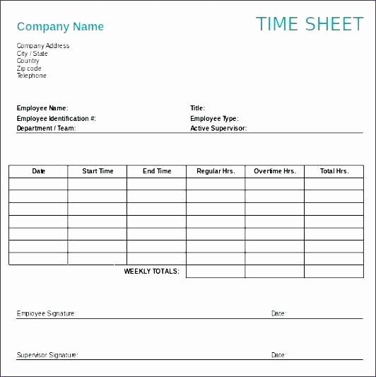 Monthly Timesheet Template Google Docs Unique Google Docs Template Employee Weekly Time Sheet Card